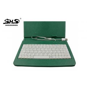 China 10 inch Android Tablet Keyboard Leather Case With Stand Design on sale