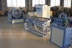 China Garden Hose Pipe Extrusion Line PVC Fiber Reinforced Braided Design on sale