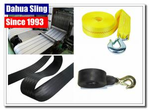 China Big Ant Nylon Recovery Tow Straps Heavy Duty Tow Rope For Emergency 3 X 20' on sale