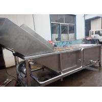 China Stainless Steel Vegetable Processor Machine , Fruit Vegetable Washer Machine on sale