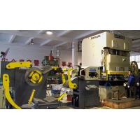 Material Frame Nc Servo Roll Feeder Straightening Machine CE ISO Certification