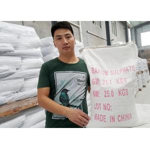 China HS 28332700 Barium Sulfate Paint For Automobile Paint / Powder Coating on sale