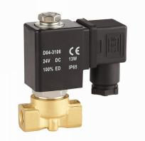 China Mini Water Solenoid Valve NC Normally Closed Solenoid Valve 1/4 Inch on sale