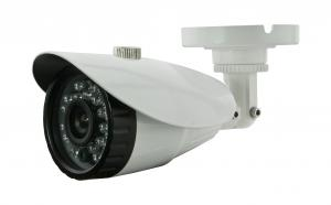 China Infrared IP66 IR Bullet Cameras SONY / Sharp CCD With Fixed lens on sale