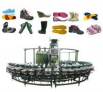 Pu footwear machine/automatic pu shoe high heels making machine