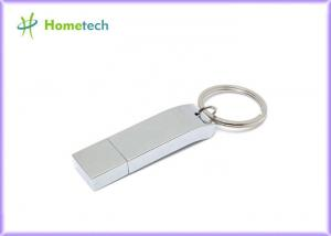 China Silver 16GB/32 GB Metal Thumb Drives USB 2.0 Interface Type For Your Business Gifts on sale