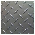 3003 3A21 0.4mm - 7mm Thickness Diamond Plate Aluminium Sheet  For Anti-skidding Floor