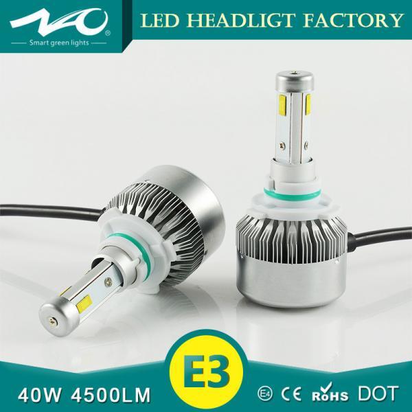 High Power Car Headlight Bulbs Auto Led Headlamp Hs Code 8512201000