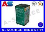 Glossy Finish Pharmaceutical Packaging Box / Medicine Paper Box For Pill Bottle