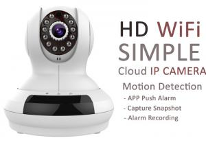 China Two Way Voice Indoor Wireless IP Camera Support 32G SD Card Free App View on sale