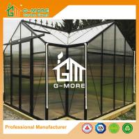 China G-MORE High-quality Extra Heavy Duty Classic English Style Easy DIY Orangery Aluminium Garden Greenhouse on sale