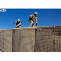 Heavy Military Barriers Container Zinc - Coating Welded Gabion