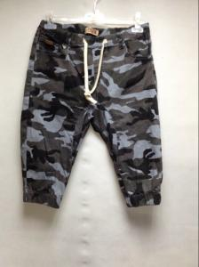 China Stretch Casual Mens Short Pants With Elastic Waist , Camo Cargo Pants For Men on sale