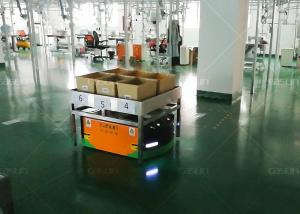 China DC48V Automated Guided Vehicle Robot , Trackless Navigation Slam AGV Easy Installation on sale
