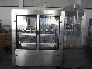 China High Precision PET Oil Bottling Machine , Electric Liquid Filling Production Line on sale