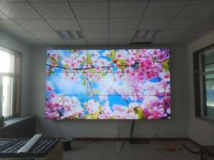 China Seamless Exhibition Ultra Narrow Bezel Video Wall Lcd  1x4 With Hdmi Input on sale