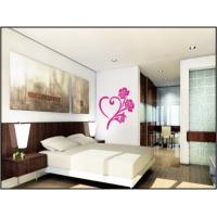 Heart Shape Nature Wall Decals