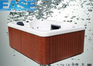 China Square Acrylic Whirlpool Massage Outdoor Bathtubs E-370S 2000 * 1640 * 800mm on sale