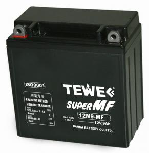 China 12V9Ah , Motorcycle (starting)battery on sale