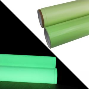 Quality Photoluminescent Film Glow In The Dark Tape / Safety Glow In The Dark Gaffer for sale