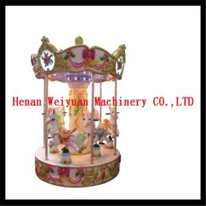 China 6 seats musical carousel horse for kids and adults on sale