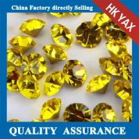 China Factory direct selling chaton crystal,point back rhinestone,China supplier Rose pointback stone on sale