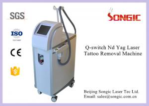 China Professional Pigment Removal Machine Q Switched Laser Tattoo Removal Machine on sale