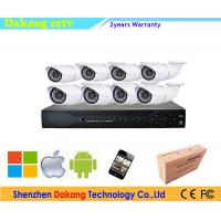 Outdoor P2P 8CH 1080P CCTV Security Systems Combo POE NVR Kit