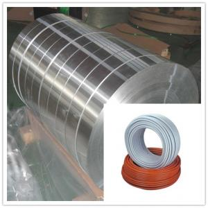 China Cold Rolling Aluminum / Aluminium Strip 6063 6082 6A02 for Cable Shielding Materials on sale