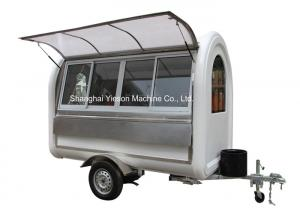 China BBQ Food Truck Trailers Catering Van Mobile Kitchen Carts on sale