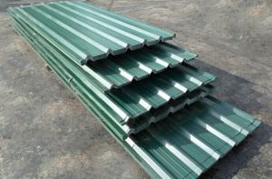China O telhado de aço ondulado Prepainted cobre a folha galvanizada laminagem a quente on sale