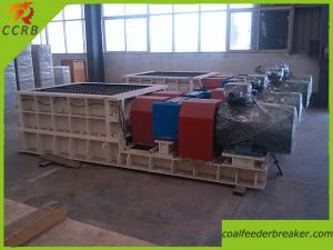 China Opencast Mine Double Roller Iron Ore Crusher on sale