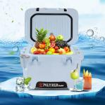 10L Rotomolded Blue Hard Shell Cooler with Bottle Opener,ruler marking,ice cooler bags,heavy duty, insulated cooler box