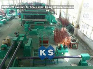 China Hexagonal Gabion Production Line Automatic Gabions Mesh Machine With PLC System on sale
