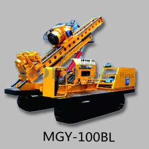 China Detachable anchor drilling rigs for sale MGY-100A geothermal drill equipment on sale
