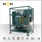 50Hz Turbine Oil Filtration Machine Demulsification Dehydration Custom Color
