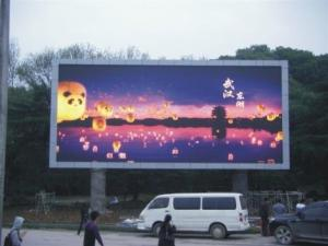 China 1/4 Scaning Outdoor Full Color Smd  Led Display Module P10 5 Years Warranty on sale