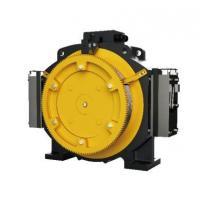 Passenger Elevator Motor Machine , 1.0 - 1.75m/S Gearless Traction Machine