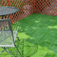 Outdoor Garden Decoration joint Tile Interlocking Artificial Grass deck Tile
