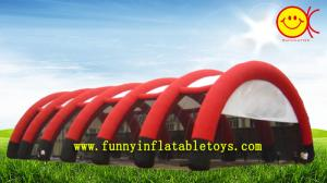 China Weatherproof Giant Inflatable Tent Dome With 12 Legs , Digital Printied on sale