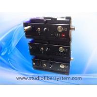 4 Sony Camcorders to 1 basestation studio camera mountable Fiber Optic System(JM-EFP-S20)
