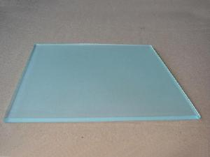 China Modern Fashion Acid Etched Glass , Colored Acid Etched Mirror Glass With CE & ISO on sale
