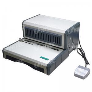 China Trous électriques de la machine à relier 49 de bobine d'équipement de bureau poinçonnant D490 on sale
