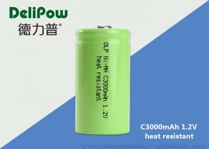 China Green Power C3000mAh High Temperature Rechargeable Battery 1.2 Voltage on sale