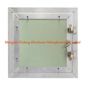 China Welding Joints Aluminum Access Panel With Plaster Board String Hook on sale