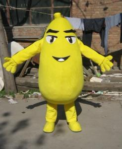 Quality custom design plush mascot fruit costumes for adults of full body for sale