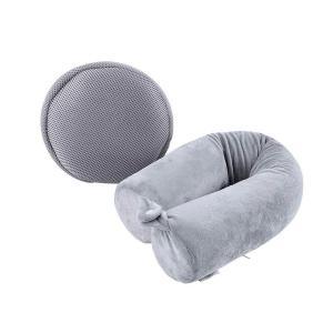 China Cylindrical Shredded Memory Foam Pillow, U Shaped Memory Foam Airplane Pillow on sale