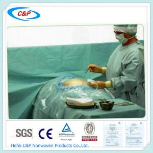 Quality CE Certificate SMS Disposable C-section Drape for sale