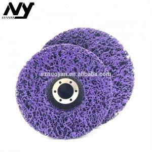 China 3m 7 Inch Paint And Rust Removal Stripping Disc 80 Grit 120 Grit Non Woven Nylon Webbing on sale
