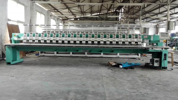 20 Heads Used Tajima Embroidery Machine 6 Needles 380v Tfkn 620 For